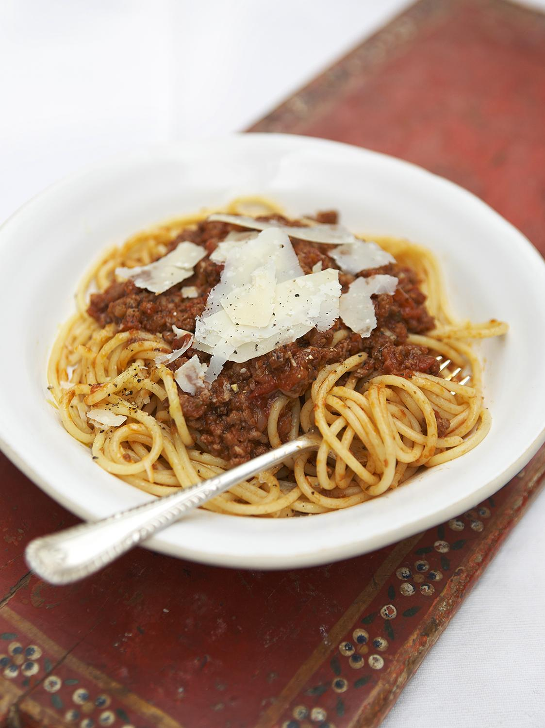 ... easy spaghetti bolognese recipes dishmaps easy spaghetti easy