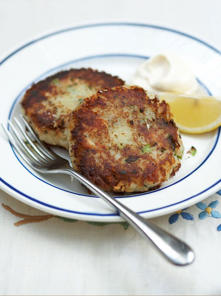 Healthy fish recipes jamie oliver for Fish cake recipe