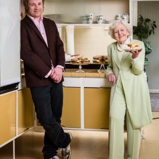Marguerite Patten & Jamie Oliver